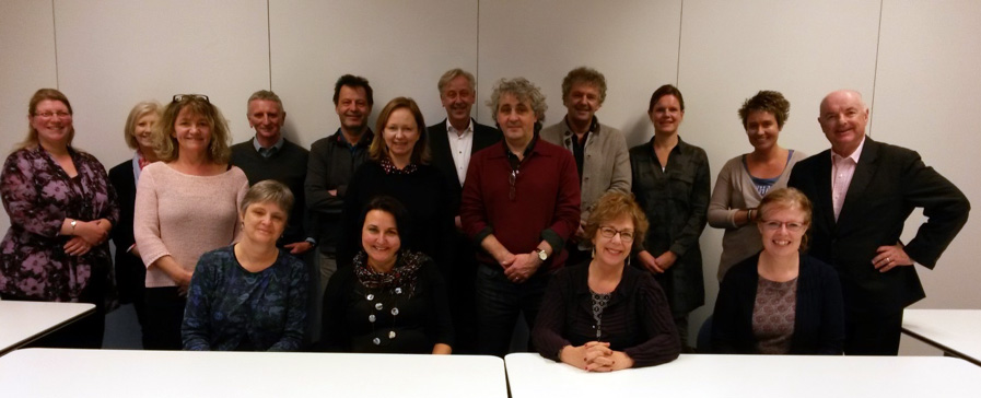 group with Dutch colleagues